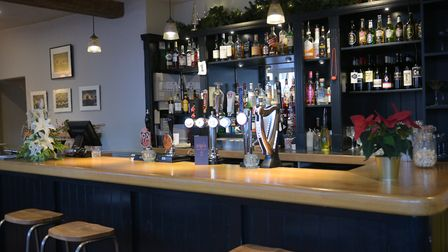 The Swan in Long Melford has now reopened under new management Picture: SARAH LUCY BROWN
