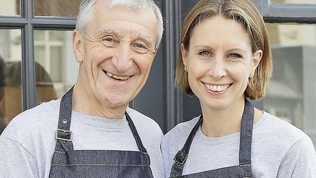 Father-daughter duo John Ormerod and Clare Jackson of Slate Picture: NICK CATLING