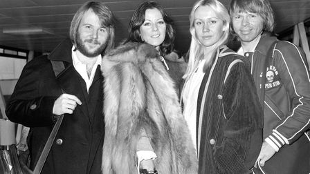 ABBA pictured in 1976. Picture: PA
