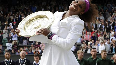 Serena Williams has won an incredible 23 Grand Slams. Picture: PA SPORT
