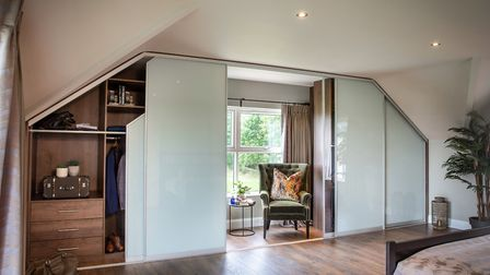 Storage can be both a solution to a problem and add a touch of luxury to your home. Photo: Sliderobe