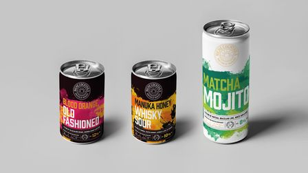 Niche Cocktails are producing premium cocktails in cans Picture: Tim Maulden