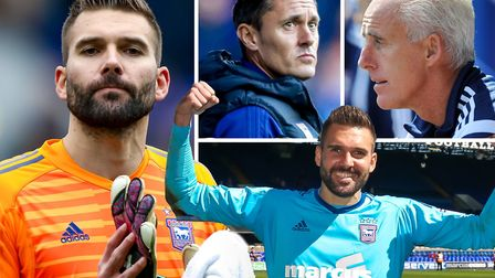 Bartosz Bialkowski has left Ipswich Town after more than five years at Portman Road. Picture: ARCHAN
