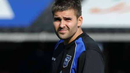 Bialkowski had a sometimes-forgotten loan spell with Ipswich in 2009. Picture; ARCHANT