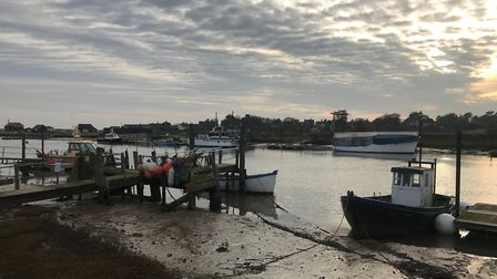 The debate over who should manage Southwold Harbour is continuing Picture: ARCHANT
