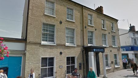 Barclays Bank in Haverhill has been evacuated after smells of burning. Picture: GOOGLE MAPS