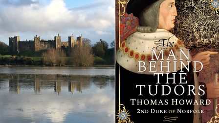 Framlingham Castle, once owned by Thomas, 2nd Duke of Norfolk; and the new biography Pictures: AND