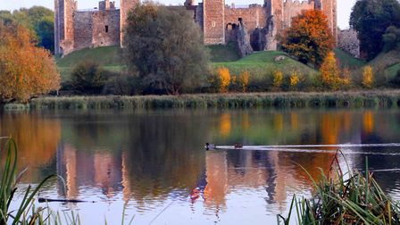 Framlingham Castle, where Thomas Howard died on May 21, 1524 Picture: BRIAN SMITH/citizenside.com