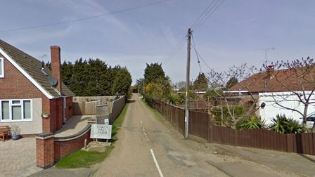 The road leading up to St John's Nursery in Clacton. Picture: GOOGLEMAPS