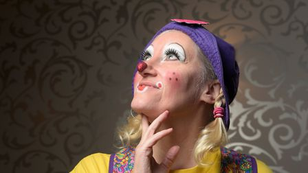 Deanna Hartmier (DeeDee the Clown) has travelled from Canada to attend the convention Picture: S