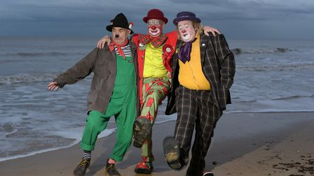 Clowns from across the globe have gathered together in Lowestoft for the world clown convention Pic