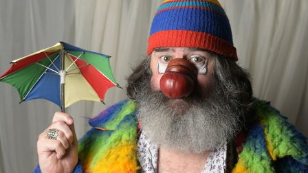 EEK the clown (Martyn Cooper) Picture: SARAH LUCY BROWN