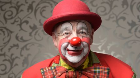 Martin Bingham (McB the Clown) Picture: SARAH LUCY BROWN