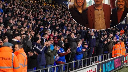 ITFC are searching for the fan who helped an elderly couple in London following the Town game at the