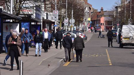 Town centres across East Suffolk have been assessed by People and Places. Picture: NICK BUTCHER
