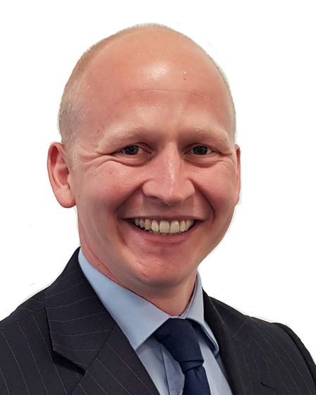Craig Rivertt, deputy leader of East Suffolk District Council and cabinet member for economic develo