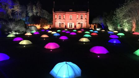 The impressive Spectacle of Light at Haughley Park runs from February 7 - 23. Picture: Neil Didsbury
