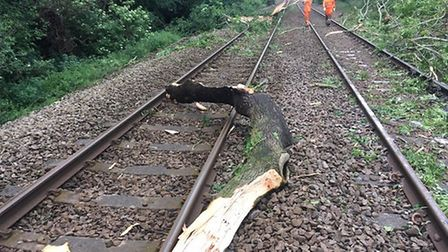 Rail engineers fear Storm Ciara could cause problems for trains on Sunday and Monday. Picture: Netwo