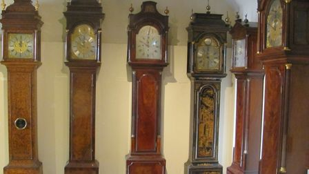 Scenes from the clock collection at Moyses Hall Museum, Bury St Edmunds Picture: West Suffolk Her