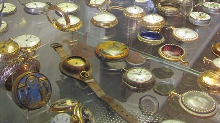 Scenes from the clock collection at Moyse's Hall Museum, Bury St Edmunds Picture:West Suffolk Her