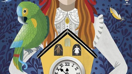 Part of the cover of Ann-Marie's new novel Picture: USBORNE