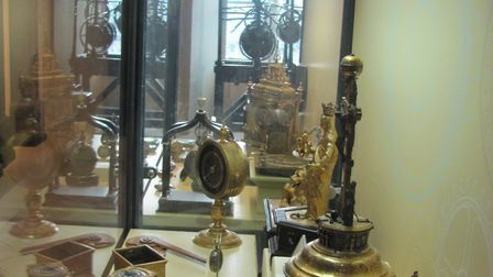 Scenes from the clock collection at Moyse's Hall Museum, Bury St Edmunds Picture: West Suffolk Her