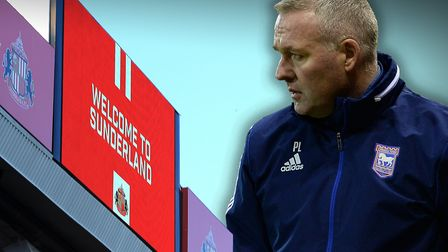 Paul Lambert takes his Ipswich Town side to Sunderland this weekend. Picture: PA/ARCHANT
