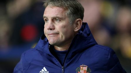 Phil Parkinson replaced Jack Ross as Sunderland manager earlier this season. Picture: PA
