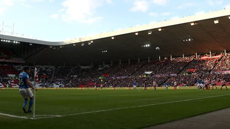 More than 30,000 tickets have been sold for today's game at the Stadium of Light. Picture: PA