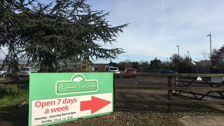 There are plans for 195 homes on the site of the garden centre between St Osyth and Clacton in Essex