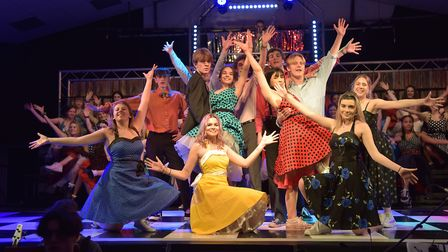 Performances of Grease will take place until Thursday Picture: SONYA DUNCAN