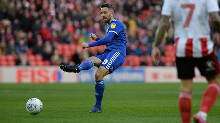 Cole Skuse on the ball at Sunderland Picture Pagepix