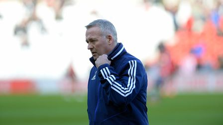 Ipswich Manager Paul Lambert at Sunderland Picture Pagepix