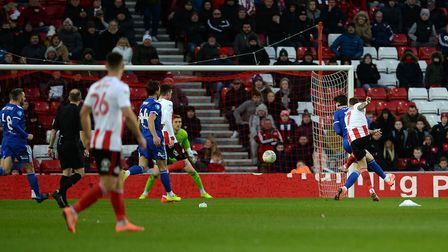 Chris Maguire's fierce shot to score the winner at Sunderland Picture Pagepix