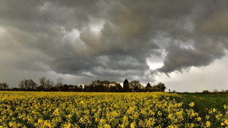 Stormy weather is set to arrive in Suffolk and Essex on Sunday, February 9 as Storm Ciara hits (file