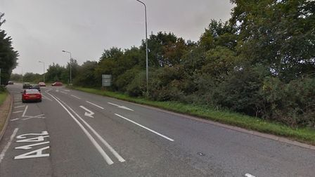The A142 near Newmarket. Picture: GOOGLE MAPS