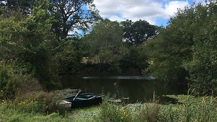 One of the many ponds at Fordley Hall Farm Picture: DAVID GRANT