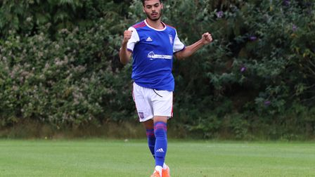 Allan Viral is a second year scholar at Ipswich Town. Photo: Ross Halls