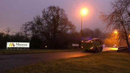 Fire crews have been called to the blaze in Stowmarket Picture: ARCHANT