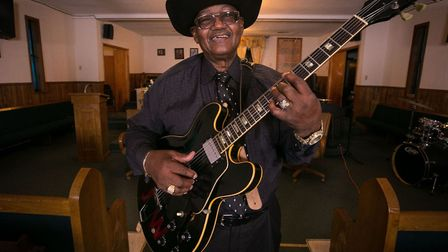Reverend John Wilkins who is appearing at this year's Red Rooster Festival