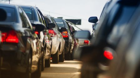 Increase in traffic around Martlesham Picture: GETTY IMAGES
