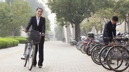 Cycling to work will become more common Picture: GETTY IMAGES/iSTOCKPHOTO