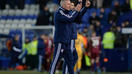 Paul Lambert's Ipswich Town are third in League One. Picture: PAGEPIX LTD
