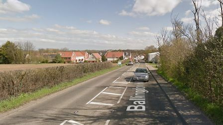 Police were called to a crash in Ballingdon Hill Picture: GOOGLE MAPS