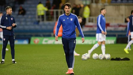 New signing Josh Earl during the warm-up at Oxford United Picture Pagepix