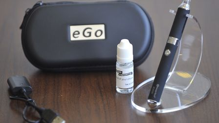 Use of vaping pens and e cigarettes has been barred in taxis by East Suffolk Council. Picture: SU AN