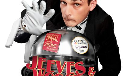 The irrepressible Jeeves and Wooster are bringing some Perefect Nonsense to the Theatre Royal, Bury