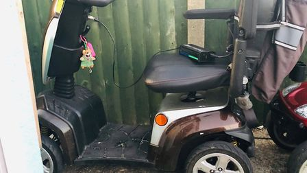 The mobility scooters were stolen from the couple's home in Meadow Way, Jaywick. Picture: GARY OTLEY