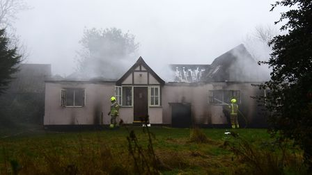 The fire was tackled by more than 70 firefighters overnight on January 21 Picture: CHARLOTTE BOND