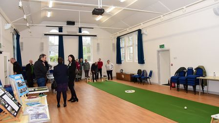 The newly renovated Westleton village hall Picture: CHARLOTTE BOND